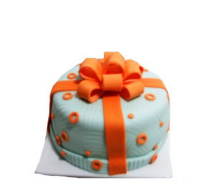 Mini torta de fondant para 5 personas aprox